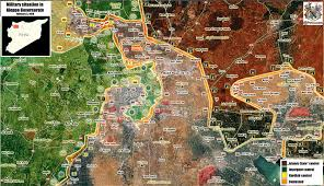 Syria War Map by Syria Cuts Rebel Supply Lines To Aleppo Breaks Siege
