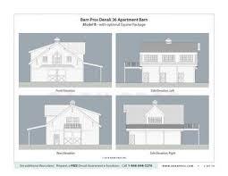 Horse Barns With Apartments Plans Barns With Apartment Denali Gable Barn Barn Pros