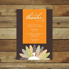 thanksgiving dinner invitation free printable invitation design