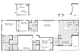 Floor Plans For Modular Homes The Yukon 30683y Manufactured Home Floor Plan Or Modular Floor Plans