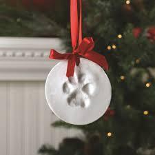 the aisle santa s lucky memory paw print ornament kit