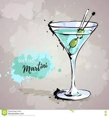 martini illustration martini illustration cartoon vector cartoondealer com 12093867