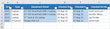 excel 2016 filtering data full page