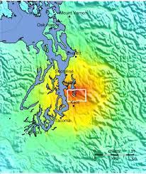 Greater Seattle Area Map by Shakemapgeologicsummaries