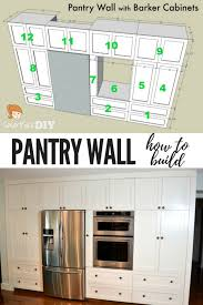 diy kitchen pantry ideas best 25 building a pantry ideas on pantry ideas