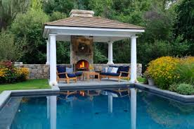Hampton Bay Outdoor Fireplace - outdoor living pool and patio superb lowes patio furniture on