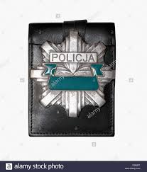 polish police badge stock photo royalty free image 102223292 alamy