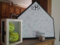 plate guest book home plate guest book baseball wedding wedding and