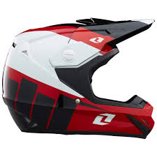 motocross bike helmets one industries mx gear atom bolt black red motocross dirt bike