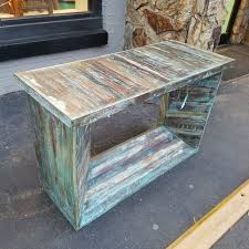 Reclaimed Wood Console Table Reclaimed Wood Console Table Nadeau