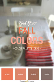 Fall Color Palette by What Are The Fall Colors For You 4 Color Palette Ideas Seams