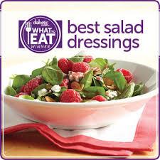 what to eat with diabetes winning salad dressings diabetic