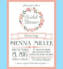 bridal shower invite template marialonghi - Wedding Shower Invitation Template