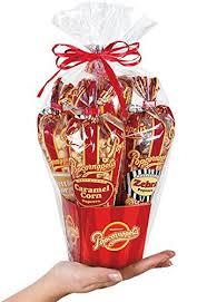 popcorn gift baskets popcornopolis mini 5 cone variety popcorn gift basket