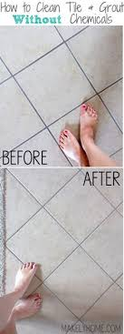 the easiest way to clean filthy neglected tile flooring ceramic
