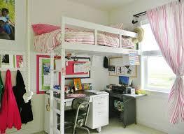 bedroom charming loft beds with desks underneath imaginative