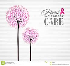 halloween breast cancer ribbon background breast cancer awareness pink ribbons conceptual tree eps10 file