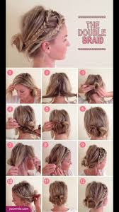 easy hairstyle to keep your hair out your face and still look cute