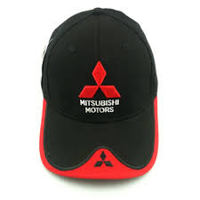 mitsubishi logo 2016 new 3d mitsubishi hat cap car logo moto gp moto racing f1