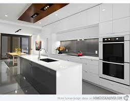 White Kitchen Design Ideas Stunning 70 White Modern Kitchen Ideas Design Inspiration Of Best