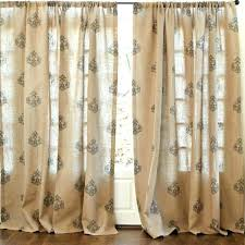 Smocked Burlap Curtains Smocked Burlap Curtains Burlap For Curtains Curtain Discount