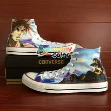 jojo s earrings women men converse chuck anime shoes jojo s