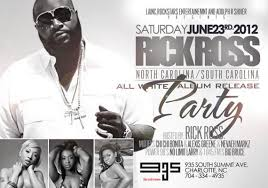 all white party rick ross album release all white party june 23rd club 935