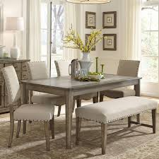 Dining Room Benches by Furniture Impressive Dining Set With Bench Black Mismatched