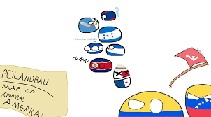 Maps Of Central America by Polandball Map Of Central America Polandball