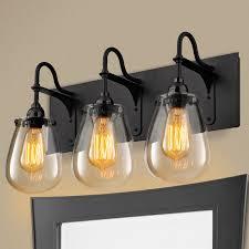 Farmhouse Bathroom Lighting Farmhouse Style Bathroom Light Fixtures Best Bathroom Decoration