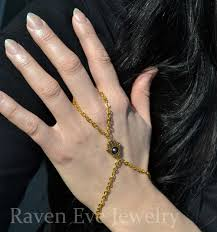 hand bracelet jewelry images Raven eve gothic jewelry hand bracelet hamsa hand jewelry with jpg