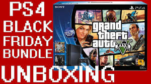 ps4 black friday unboxing ps4 black friday gta v the last of us remastered