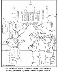 coloring page india coloring page ganesha countries pages india