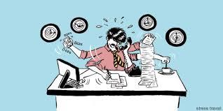 dessin humoristique travail bureau vidéo les conseils de bauer pour gérer le stress au travail