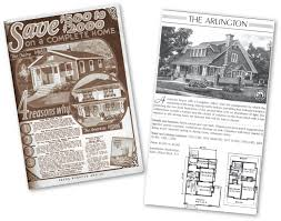 Sears Homes Floor Plans by Bedrooms And Bungalows Arlington Magazine