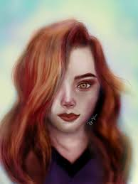ginny weasley coloring pages ginny weasley digital painting harry potter amino
