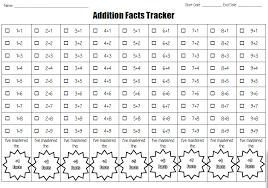 math facts math facts progress charts tj homeschooling