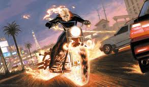 ghost rider coloring pages the self absorbing man painting ghost rider