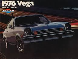 chevy vega 1976 chevrolet vega brochure