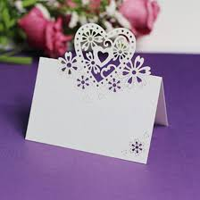 Christmas Cards Invitation Best Quality Love Heart Cut Out Wedding Birthday Christmas Card