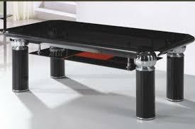 New Design Bent Glass Tea Table In China Mainland Foshan - Tea table design