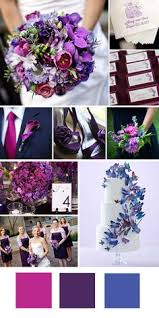 Colors Of Purple 5 Different Shades Of Purple Wedding Colors Peacock Themed