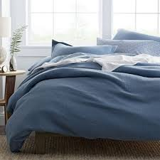 Dusty Blue Duvet Cover Solid Duvet Covers The Company Store