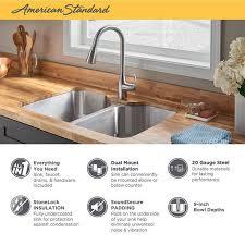 kitchen cabinet sink faucets tulsa 33x22 stainless steel kitchen sink kit
