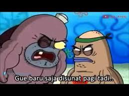 Meme Komik Spongebob - meme comic seberapa tangguh loe youtube