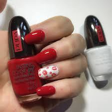 kisses nailart per san valentino by mikeligna pupa nail academy