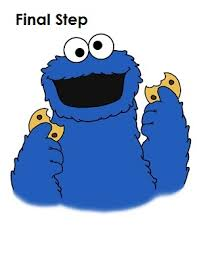 draw cookie monster