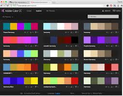 week 7 typography colour schemes photoshop and fun u2013 rachel wcb