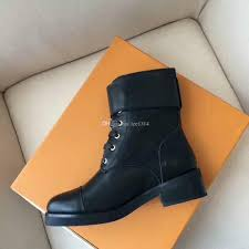 fashion leather boots women rivet flat leather lace casual boots