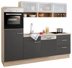 U K Henzeile Küchenzeile 240 Cm Günstig Online Kaufen Lionshome Komplett
